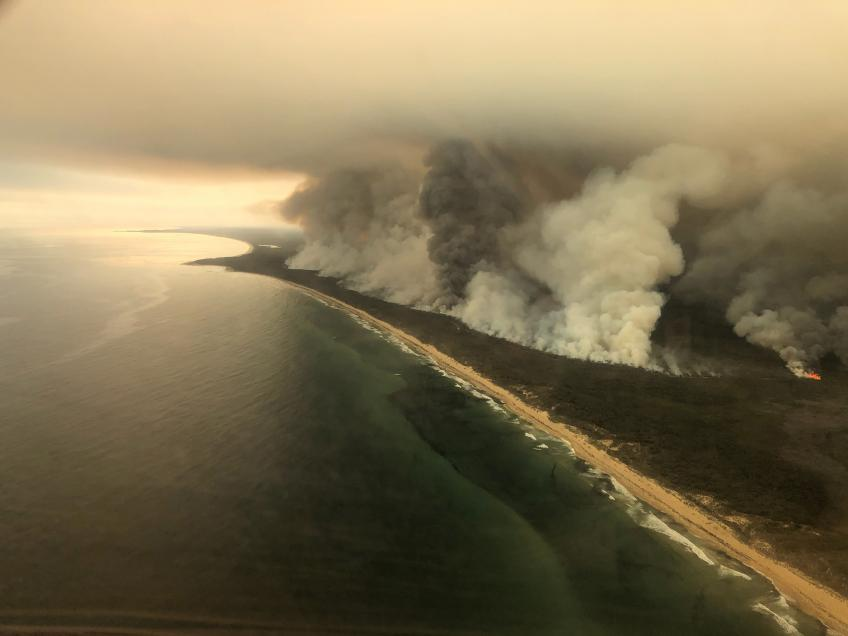 Eden far from a paradise as Australia bushfire to curb 0.5% of national GDP growth