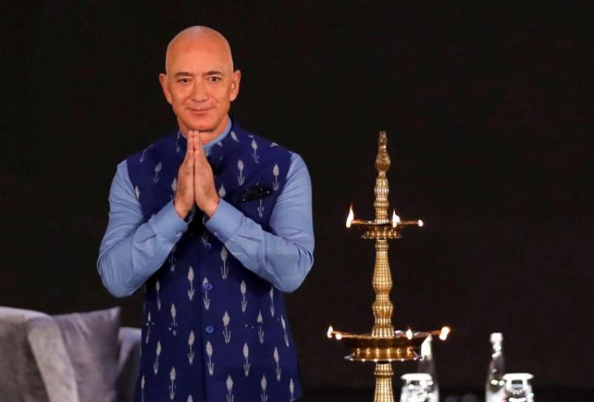Amazon offers small business owners $1 billion in investment in India