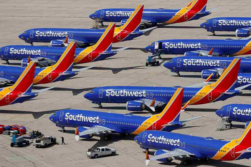 Southwest extends Boeing Co.'s 737 MAX cancellations until June 6th