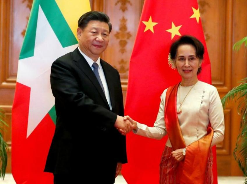 Myanmar and China ink dozens of deals to accelerate Belt & Road initiative
