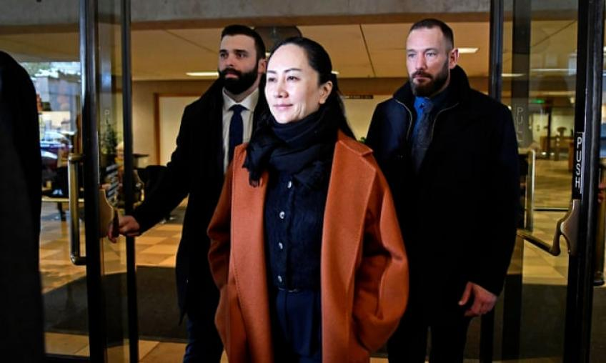 Canada plays no part in US sanction: Meng's lawyer in US extradition defence