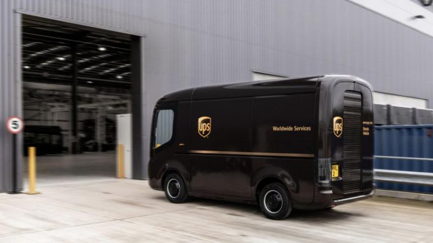 UPS seals electric van deal with Arrival, set to test Waymo automation