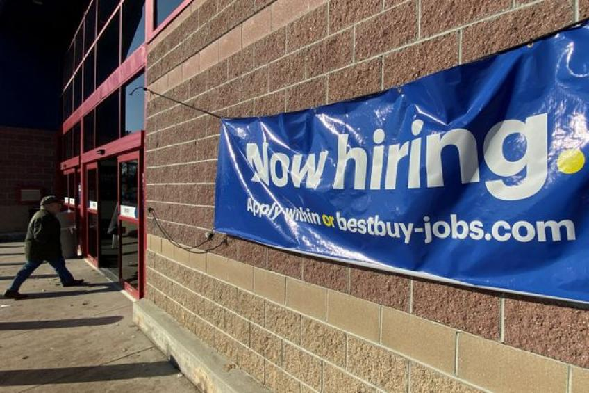 US weekly jobless claims hit nine-month low; productivity rebounds