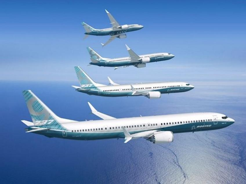 Boeing scores no January order for the first time since 1962