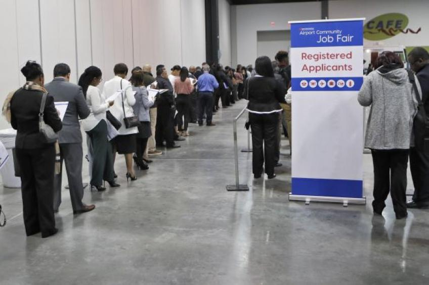 US jobless claims slightly up, mid-Atlantic factory data show moderation