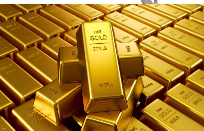 Gold holds firm above seven-year-peak as coronavirus impact stokes safe haven demand