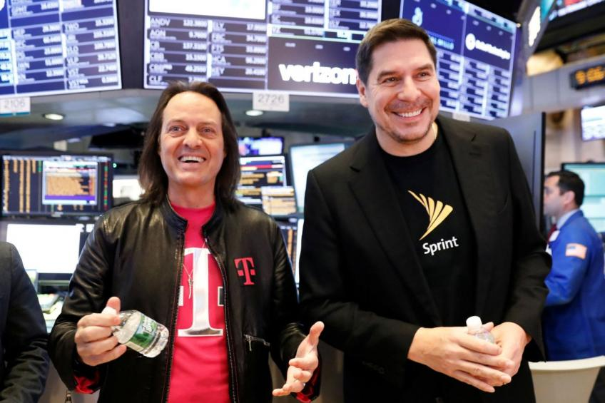 T-Mobile, Sprint amend merger terms, reduce SoftBank stake to 24%