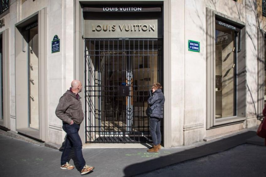 Louis Vuitton owner LVMH offers free disinfectants to aid French coronavirus fight