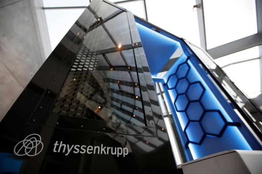 Germany's Thyssenkrupp ponders production cuts as coronavirus balloons in Europe