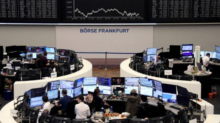 European shares slumped as EU cancels rescue plans, PM Johnson tests positive
