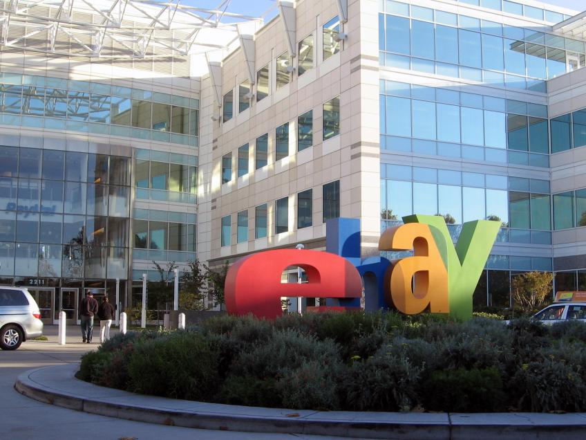 California's eBay forecasts Q2 revenue above estimate as more people shop online