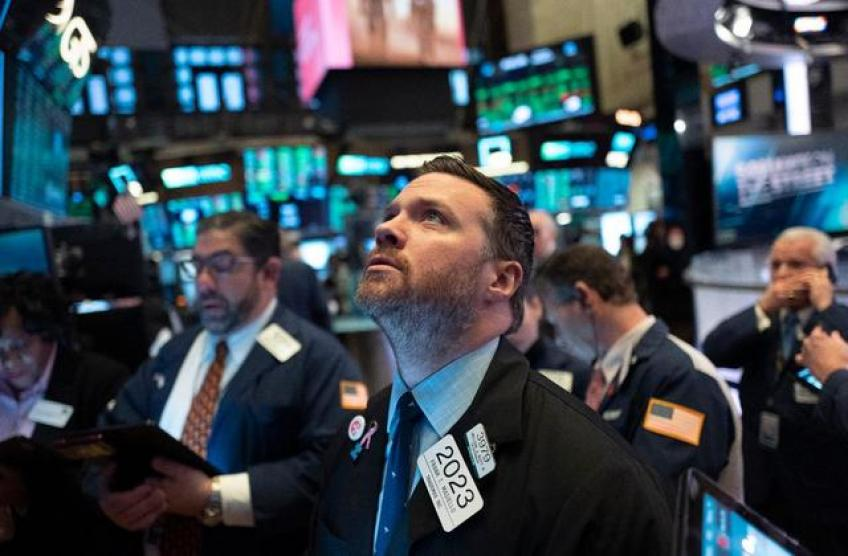 Stocks register gains on cautious hopes of economic recovery