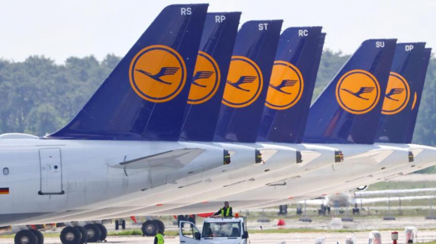 Bloc's second-largest airline Lufthansa says up to 26,000 jobs at risk