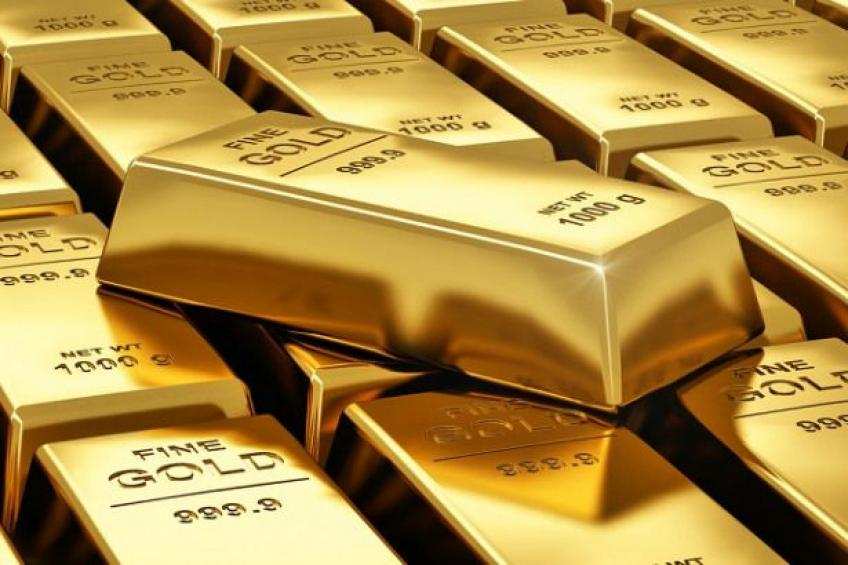 Precious gold gains on fresh pandemic resurgence fear, dour Fed projection