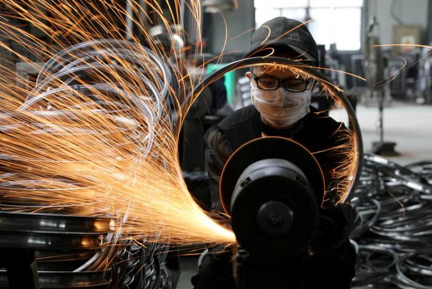 China industrial profits post first monthly rise in six months as lockdown eases