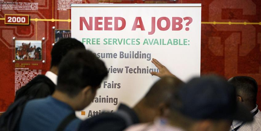US hiring clocks record gain in May: JOLTS