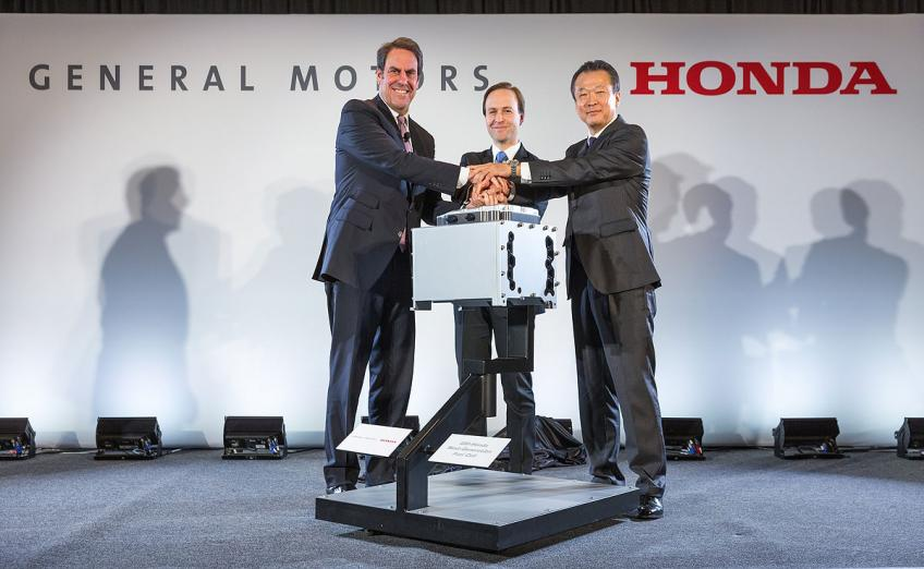 Detroit carmaker GM, Honda to join forces in new vehicle development in North America