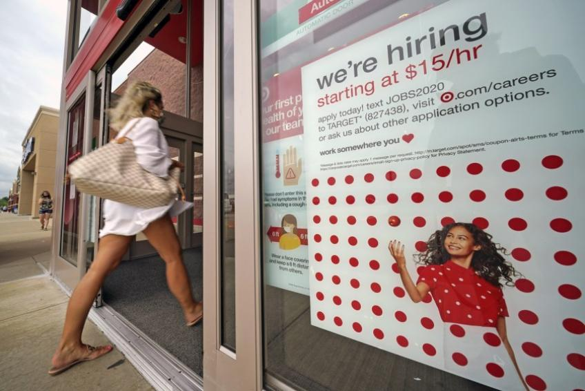 US unemployment rate falls to 8.4% even as hiring loses steam