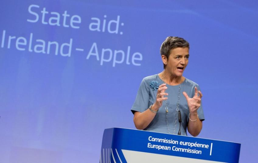 EU Commission appeals after losing Apple $15 billion tax case