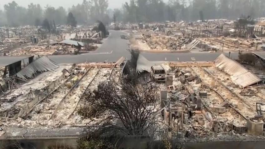 Portland's Pacific Power utility sued over devastating wildfire in Oregon