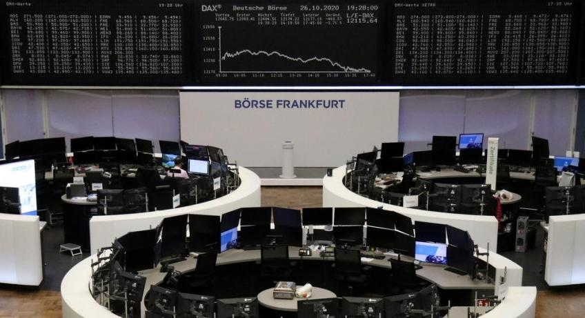 European shares lose more than 5% on the week as lockdowns dull recovery hopes