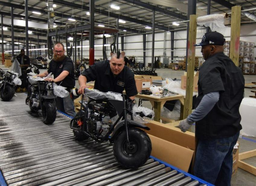 US manufacturing nears two-year high; Wall St. analysts see bumpy road ahead