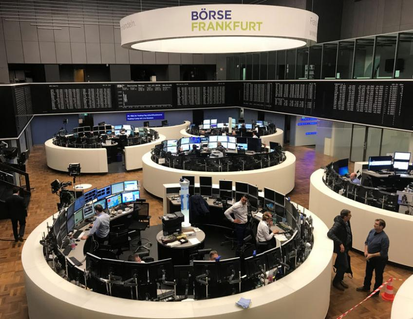 European shares rise for fourth straight week; BBVA jumps 4% after Sabadell talks end