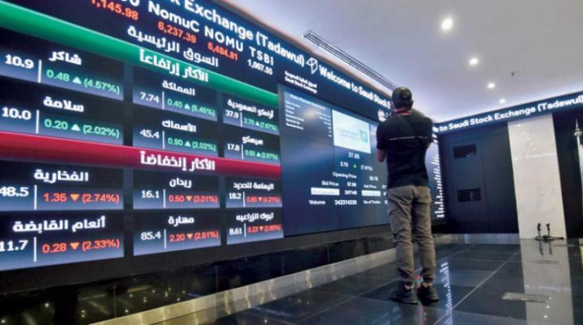 Gulf stocks end higher as Saudi extends gain for a sixth straight session; Dubai dips