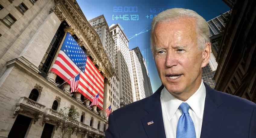 Wall St. ends at record highs as Biden pledges trillions of dollar in fiscal stimulus
