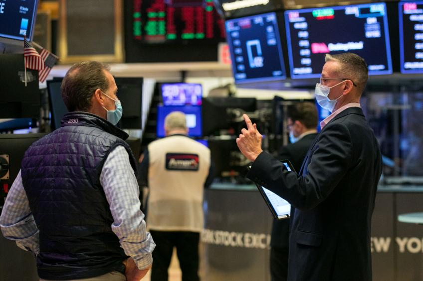 S&P, Nasdaq extend record-setting rally on optimism over Biden stimulus plan