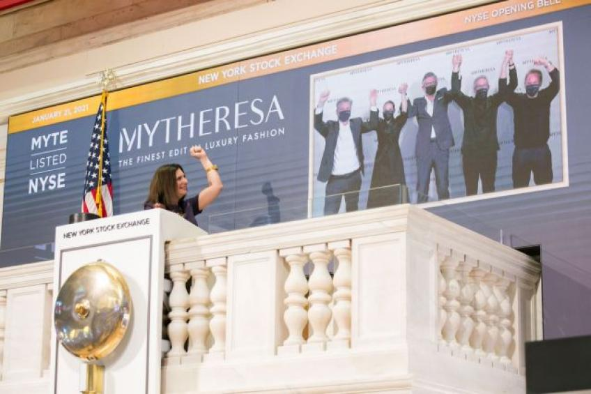 German Online fashion retailer Mytheresa jumps 37% in NYSE debut