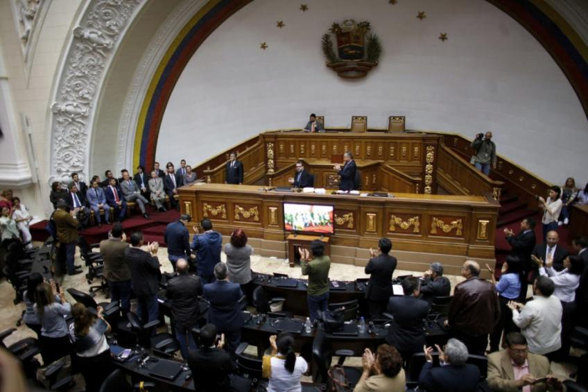 Venezuelan congress railed against oil deal with US & French companies