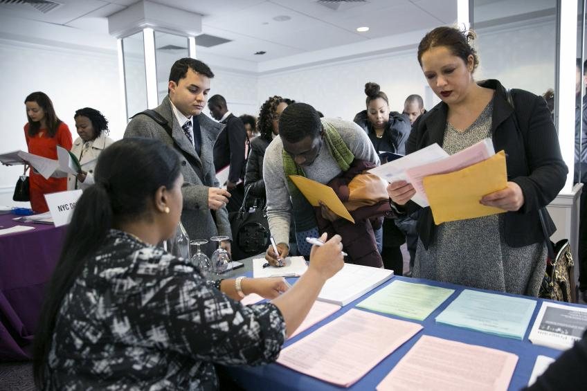 US private payrolls crawl up as services sector activities hit two-year peak