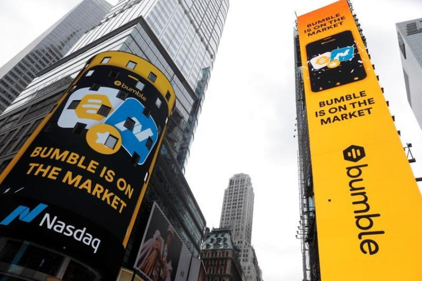 Austin's Bumble soars 76% in Nasdaq debut as investors fall in love with dating app