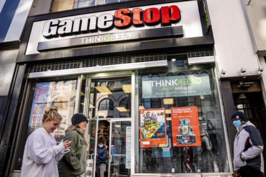 Dallas' retailer GameStop rally cools off; still shares shelve 151% weekly gains