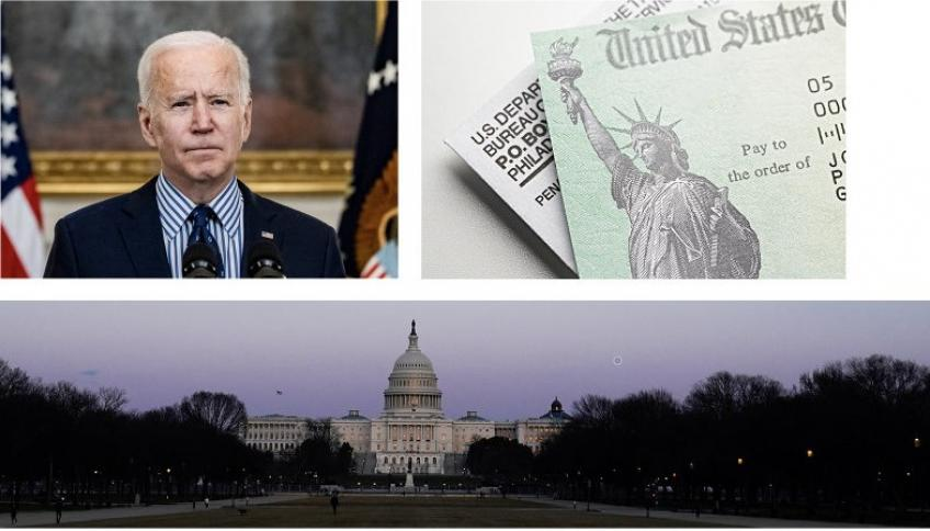 US Congress passes Joe Bidens $1.9 trillion American Rescue Plan
