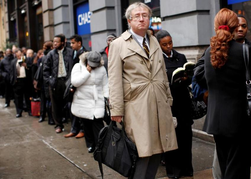 US initial jobless claims drop to one-year low in boost to economy
