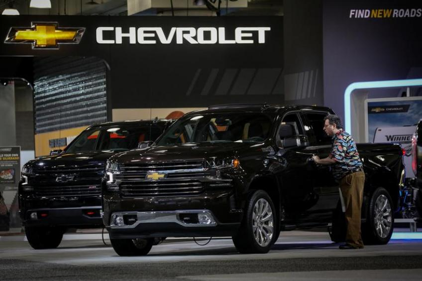 Michigan's General Motors to start making Silverado e-pickups in Detroit on late-2022