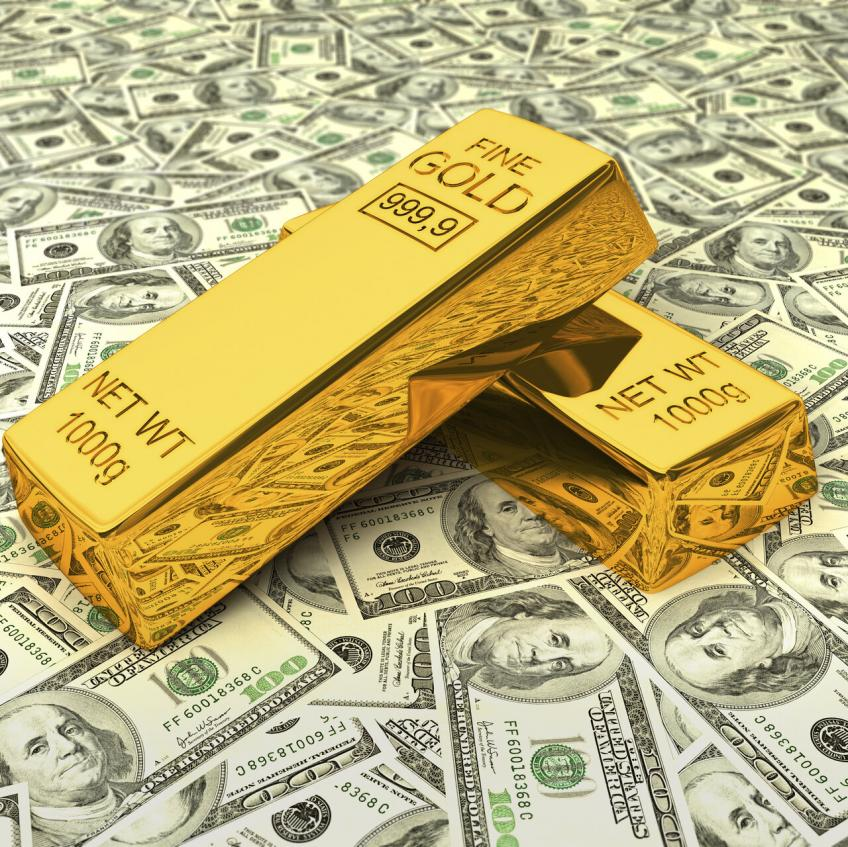 Gold jumps 1% as US Dollar dives to two-week low, bond Yields ease