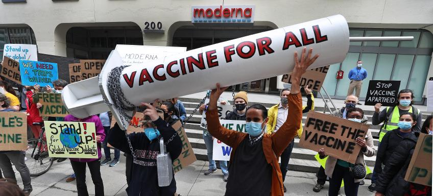 Cambridge's Moderna, Pfizer plunge as governments mull vaccine patent waiver