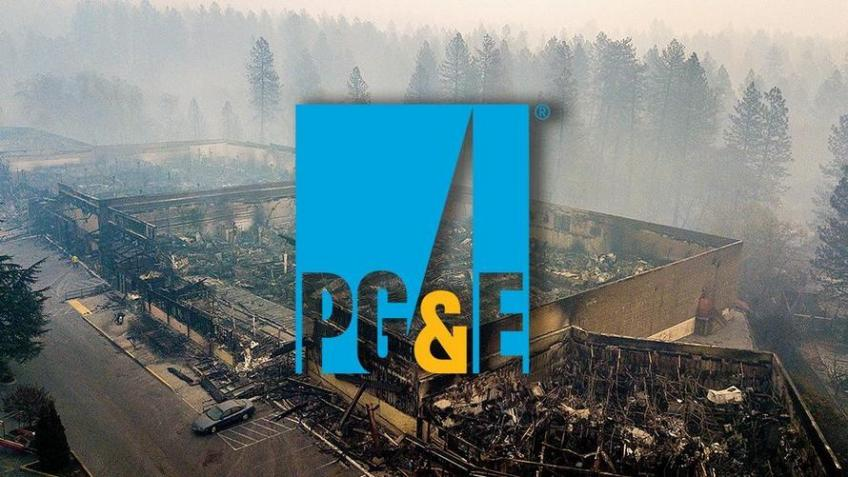 PG&E blows over bankruptcy filing on California Wildfire