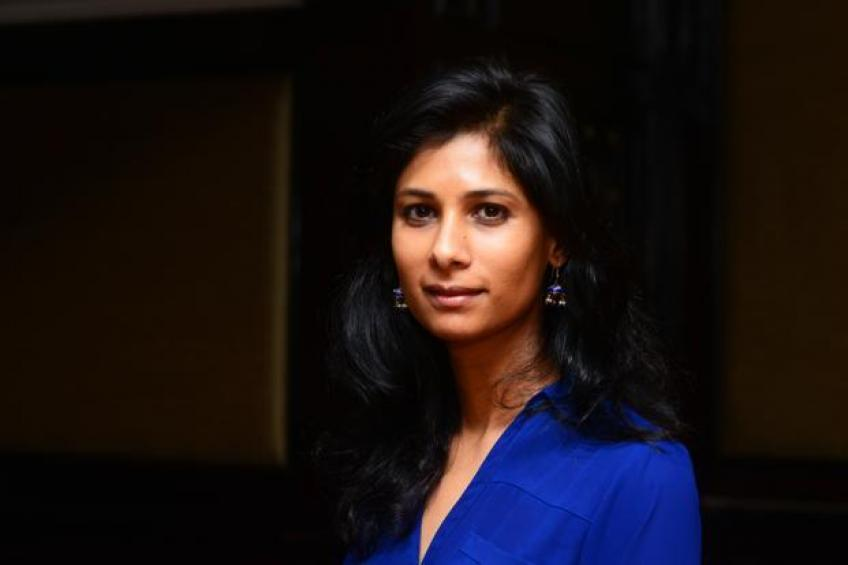 IMF appoints Indian-born Gita Gopinath as chief economist