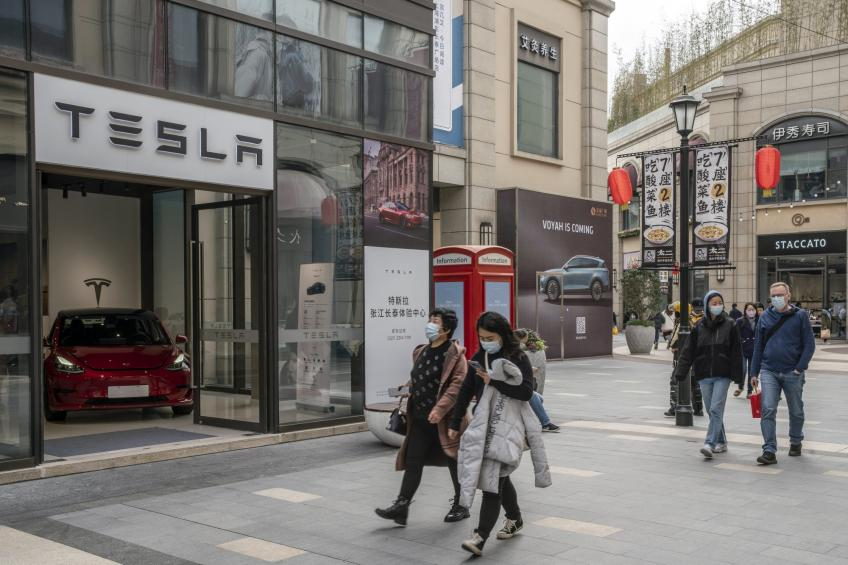 Palo Alto's Tesla sets up China site to store car data locally amid growing scrutiny