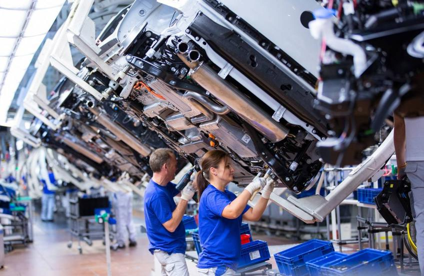 Euro zone industrial productions surge; no taper-talk yet, says ECB's Lagarde