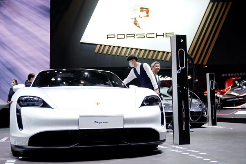 Porsche to team up with German battery maker aimed at reducing EV charging duration