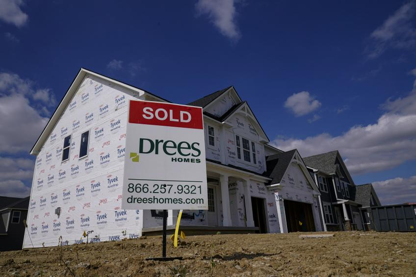 US housing starts accelerate in June but building permits slip to 8-month low