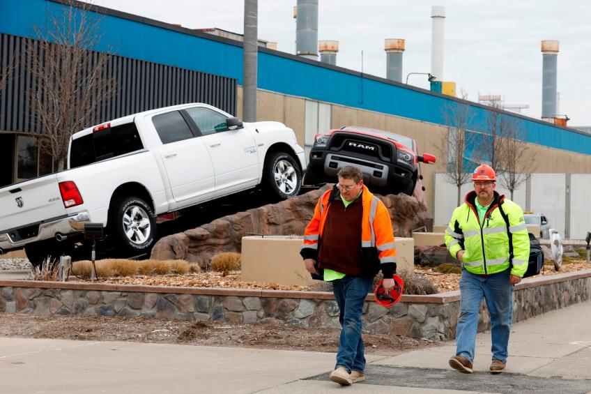 US manufacturing production jumps as automakers suspend annual retooling shutdown