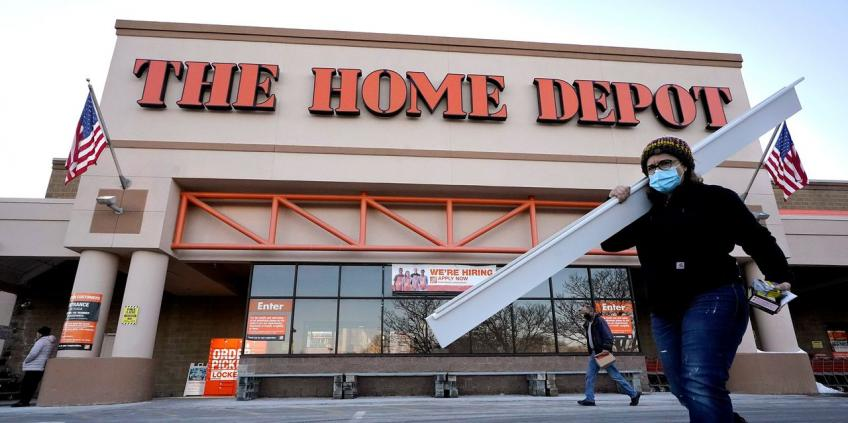 Atlanta's Home Depot's US sales slow as DIY frenzy eases