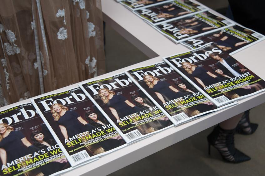 New Jersey business magazine Forbes to go public via $630 million SPAC merger