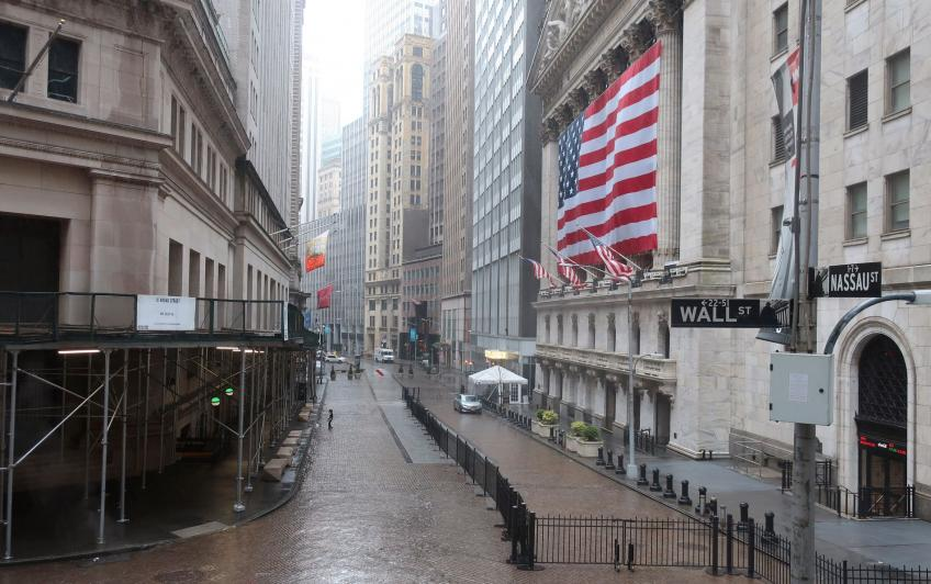 Wall St. ends lower as US PPI hits 11-year peak, Apple sinks on app store ruling